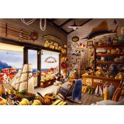 Puzzle Rybářský obchod