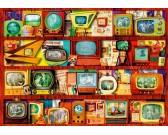 Puzzle Staré televizory