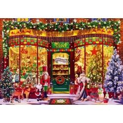 Puzzle Vánoční obchod