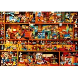 Puzzle Police plná hraček