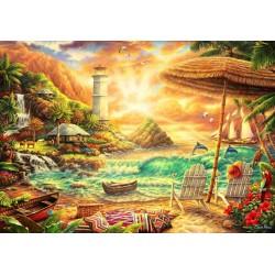 Puzzle Pro milovníky pláží