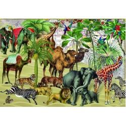 Puzzle Zvířata na poušti