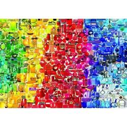 Puzzle Barevné věci