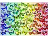 Puzzle Motýlci