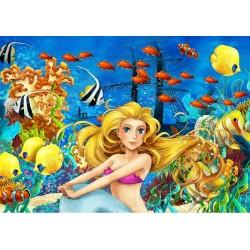Puzzle Mořská víla - DĚTSKÉ PUZZLE