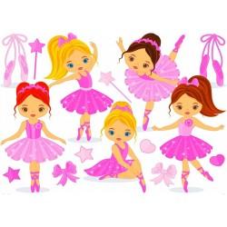 Puzzle Malé baletky - DĚTSKÉ PUZZLE
