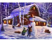 Puzzle Radost z Vánoc