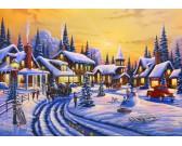 Puzzle Vánoční příběh