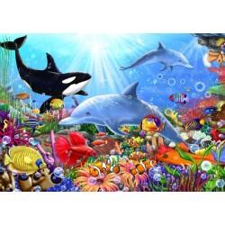 Puzzle Život pod vodou