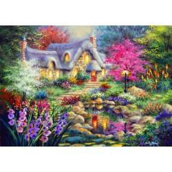 Puzzle Chaloupka u rybníka