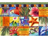 Puzzle Tropická mozaika