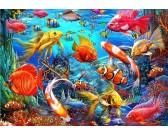Puzzle Tropické ryby