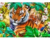 Puzzle Tygři v džungli