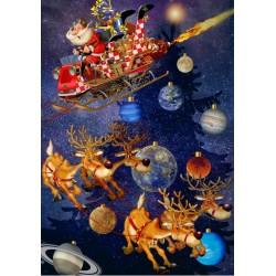 Puzzle Santa přijíždí!