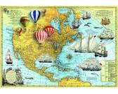 Puzzle Severní Amerika