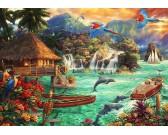 Puzzle Život na ostrově
