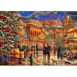Puzzle Vánoční trhy