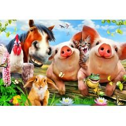 Puzzle Zvířátka na farmě - DĚTSKÉ PUZZLE