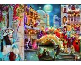 Puzzle Karneval v Benátkách