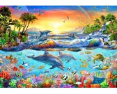 Puzzle Tropická zátoka