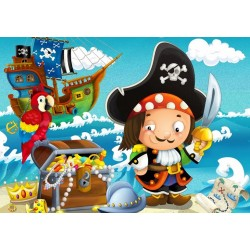 Puzzle Pirátské dobrodružství - DĚTSKÉ PUZZLE
