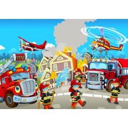 Puzzle Záchranářský tým - DĚTSKÉ PUZZLE