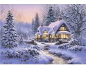 Puzzle Zimní sněhová pokrývka