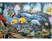 Puzzle Pod vodou