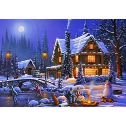 Puzzle Duch Vánoc