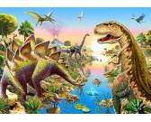 Puzzle Dinosauří řeka