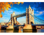 Puzzle Tower Bridge na podzim