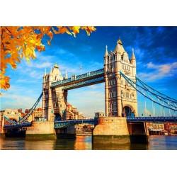 Puzzle Tower Bridge na podzim