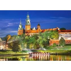Puzzle Wawel v noci, Polsko