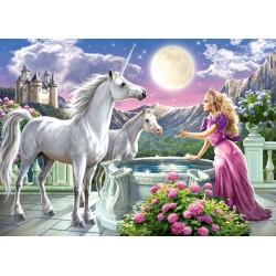 Puzzle Princezna a její jednorožci - DĚTSKÉ PUZZLE