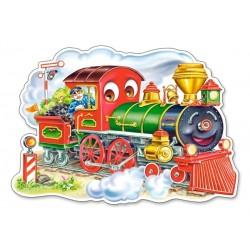 Puzzle Veselá lokomotiva - MAXI PUZZLE