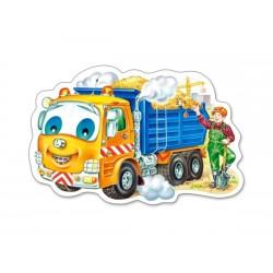 Puzzle Auto s nákladem - DĚTSKÉ PUZZLE
