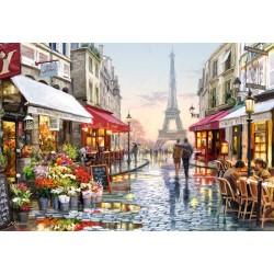 Puzzle Květinářství v Paříži