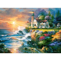 Puzzle Maják na útesu