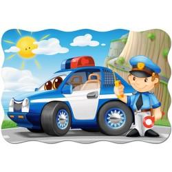 Puzzle Policejní auto - MAXI PUZZLE