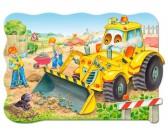 Puzzle Buldozer v akci - MAXI PUZZLE