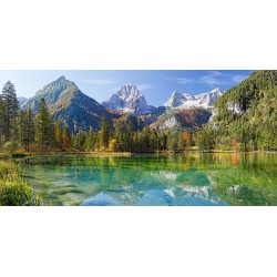 Puzzle Majestátné hory - PANORAMATICKÉ PUZZLE