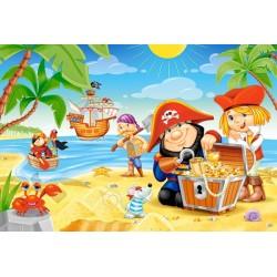 Puzzle Pirátské dobrodružství - MAXI PUZZLE