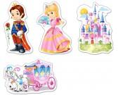 Puzzle Svět princezen - DĚTSKÉ PUZZLE