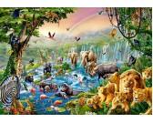 Puzzle Řeka v džungli