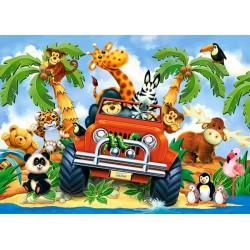 Puzzle Hurá na výlet! - DĚTSKÉ PUZZLE
