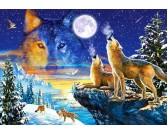 Puzzle Smečka vlků
