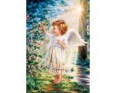 Puzzle Dotyk anděla