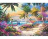 Puzzle Palmová pláž