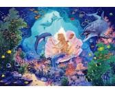 Puzzle Mořská princezna