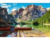 Puzzle Pohoří Dolomity, Itálie